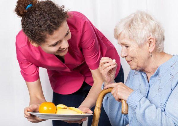 Cuidados com idosos com relação à Alimentação